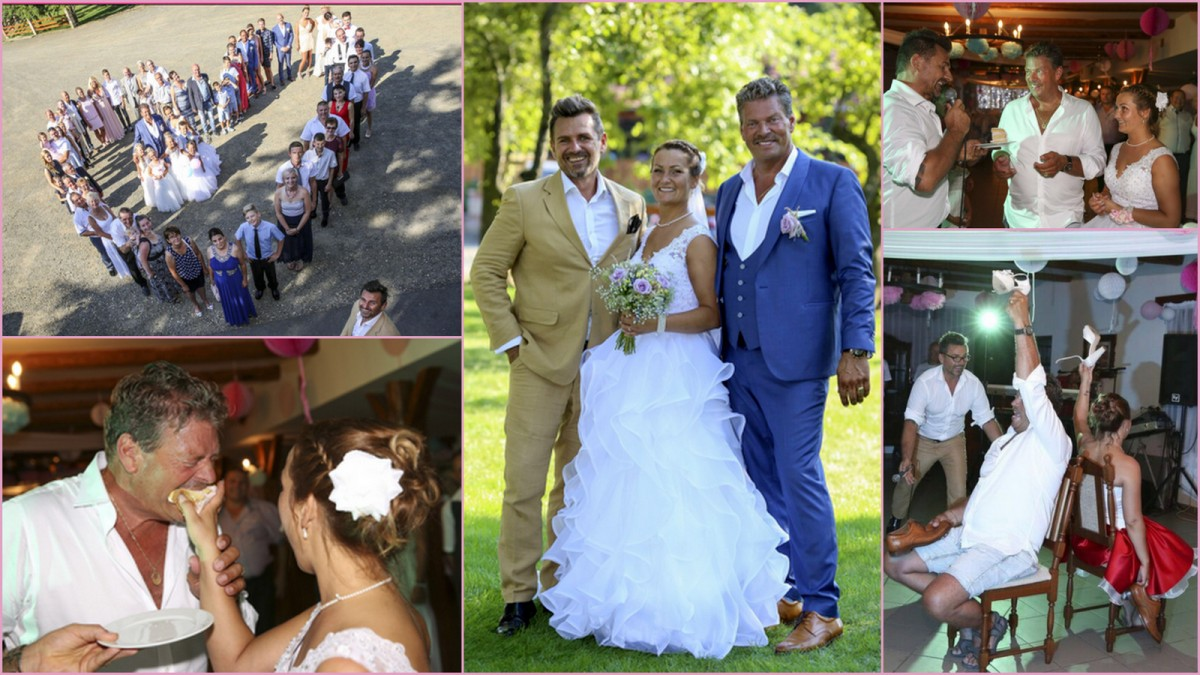 John and Emoke a Holland-Magyar esküvő és a Ceremóniamester