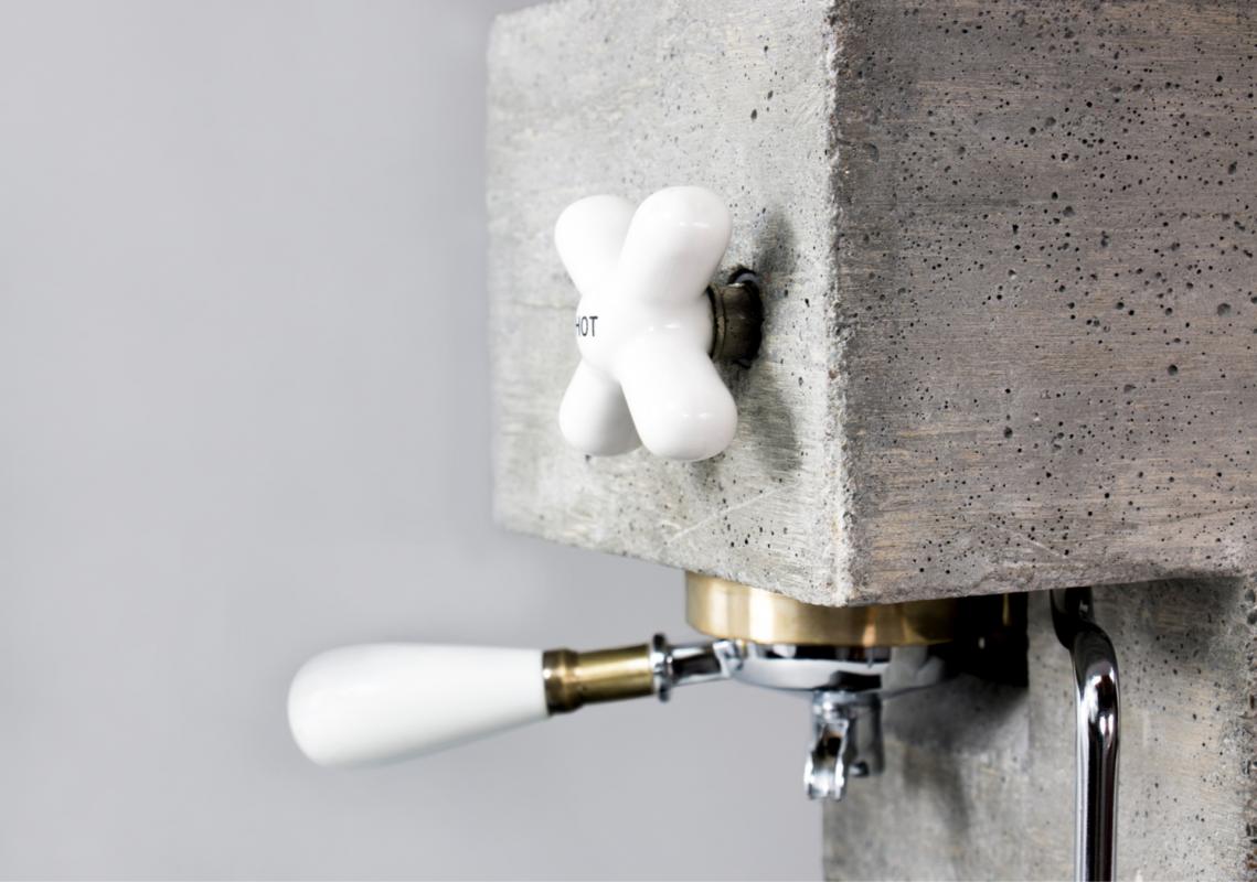 Brutális dizájn kávéfőző betonból - Ceremóniamester ajánlja