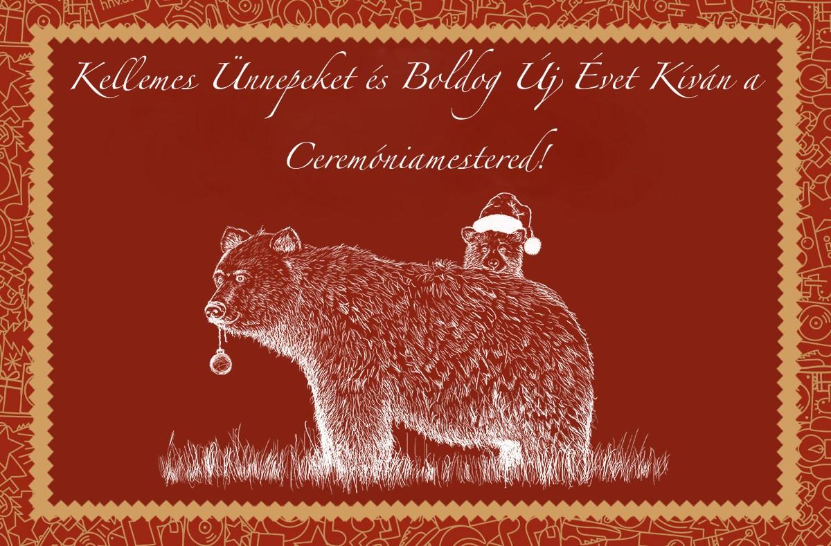 Kellemes ünnepeket és boldog új évet kíván a Ceremóniamestered