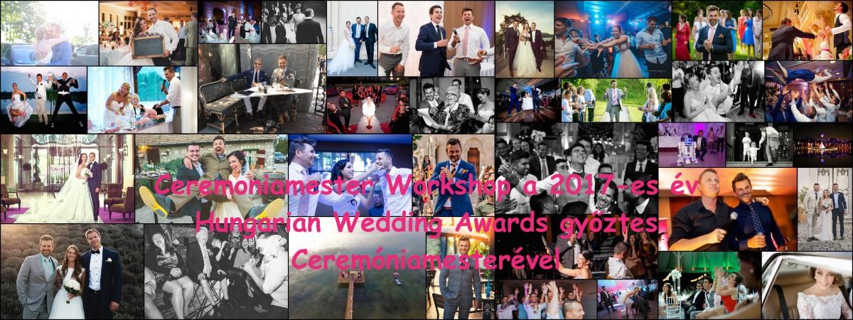 Ceremoniamester képzés a Hungarian Wedding Awards győztes Ceremóniamesterével