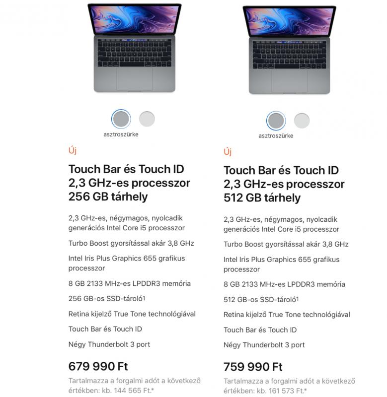 Na végre! Itt az új Apple 32Gb Ram Macbook Pro - Ceremóniamester ajánlja